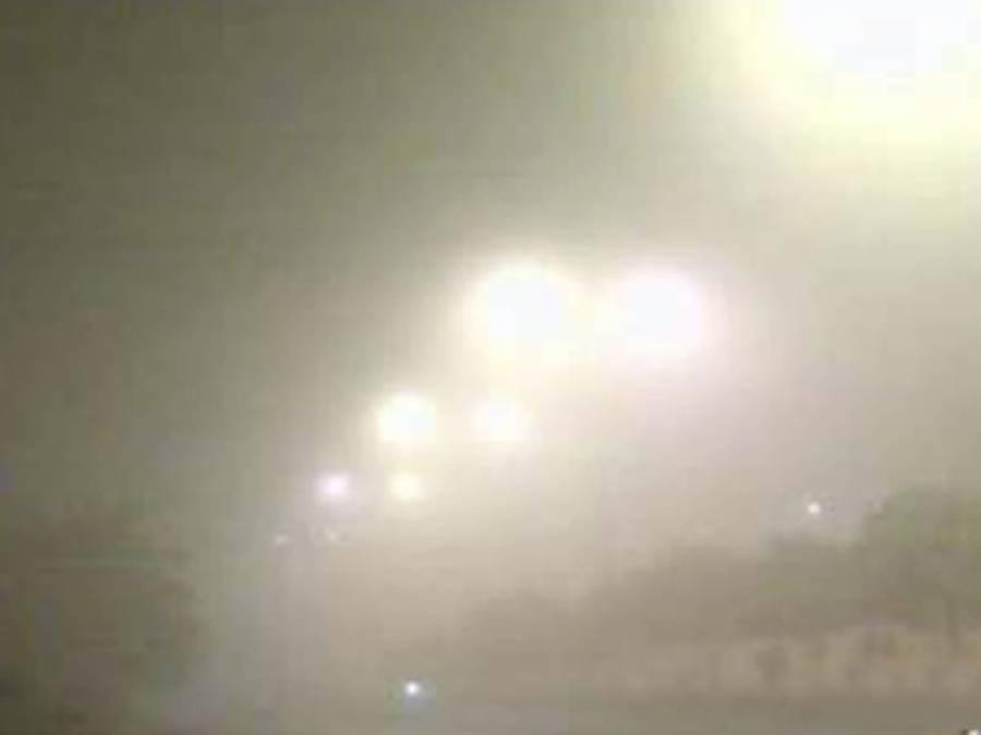 موٹروے پر شدید دھند، 7 گاڑیاں ٹکرانے سے ایک شخص جاں بحق ، متعدد زخمی