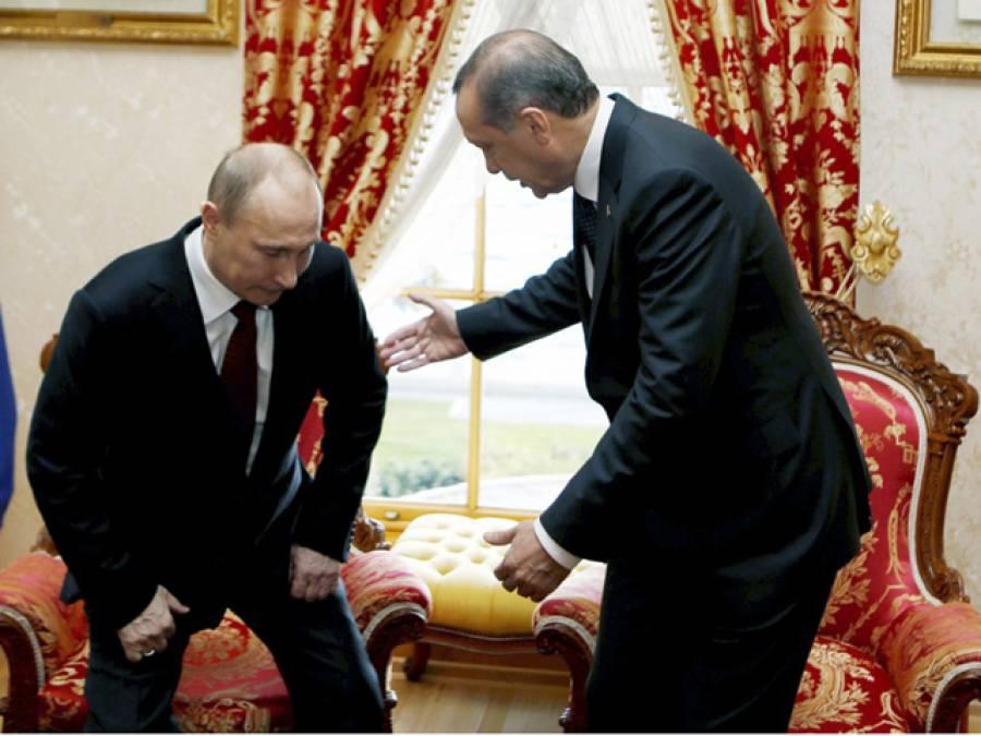 صدر پیوٹن ثابت کریں کہ ترکی داعش سے تیل خریدتاہے تو مستعفی ہوجاﺅں گا:طیب اردگان