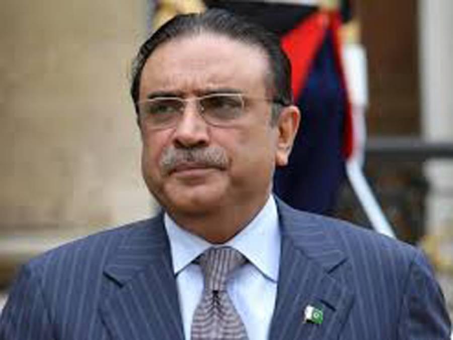 سابق صدر آصف زرداری کی بریت کیخلاف درخواست دائر