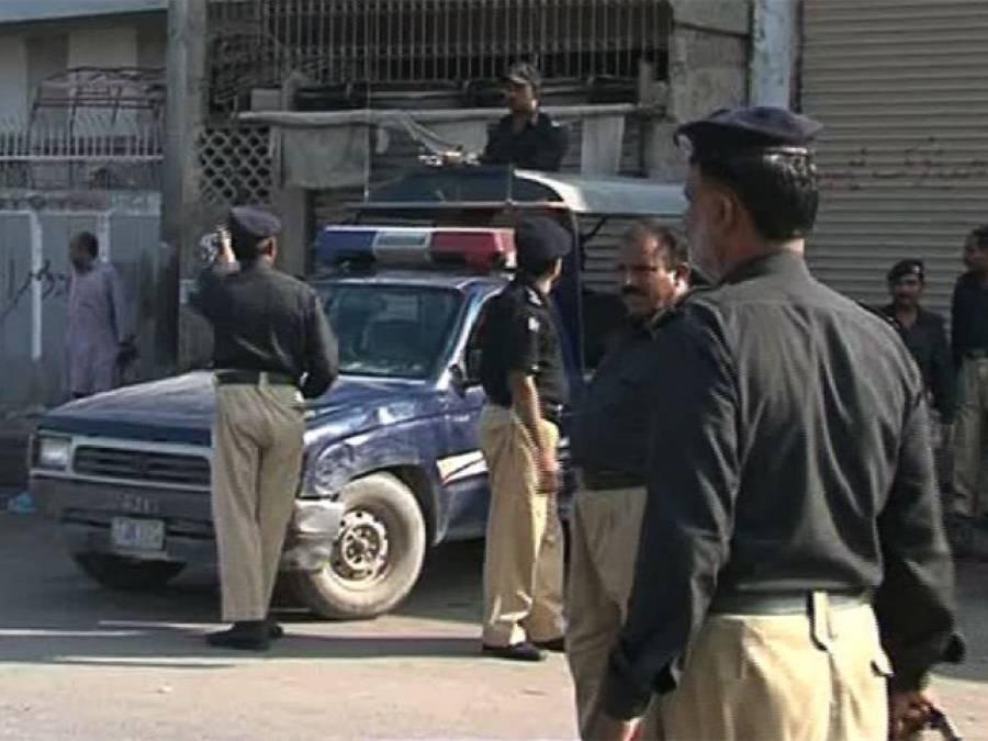 لاہور میں پولیس کی کارروائی،دو مبینہ دہشتگرد گرفتار
