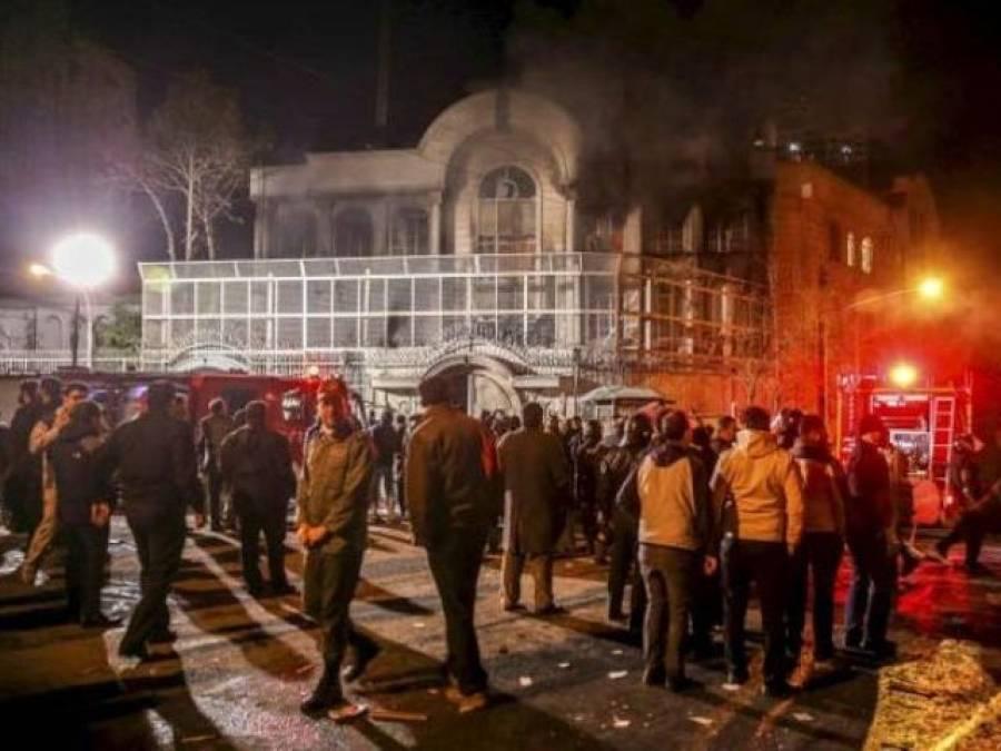 سعودی سفارتخانے پر حملے کا ماحول تہران نے خود بنایا،امریکی ادارے کی رپورٹ میں دعویٰ