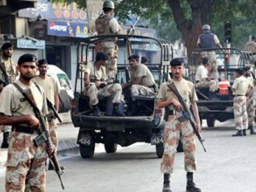 کراچی کے علاقے محمود آباد میں رینجرزکی کارروائی،ٹارگٹ کلر گرفتار