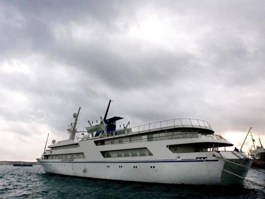 صدام حسین کیلئے تیار کردہ بحری جہاز ایک مرتبہ پھر سمندر میں آگیا، اب مالک کون ہے اور کس مقصد کیلئے استعمال کیا جائے گا؟ دلچسپ حقیقت سامنے آگئی