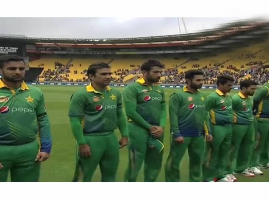 سانحہ چارسدہ ،پاکستان ٹیم نے تیسرے ٹی ٹونٹی میچ سے قبل ایک منٹ کی خاموشی اختیار کی