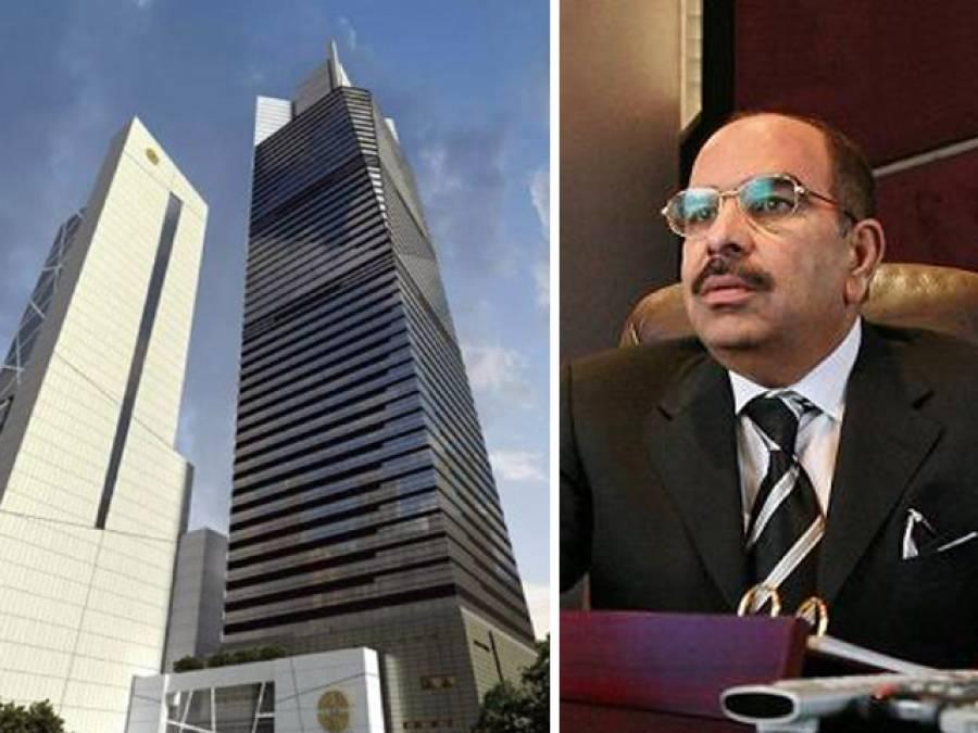 کراچی میں پاکستان کی بلند ترین عمارت بحریہ ٹاﺅن آئیکون کا افتتاح ہو گیا