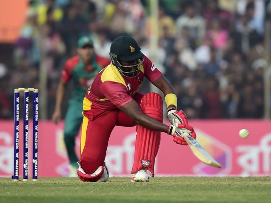 مساکاڈزا کا بنگلہ دیشی باولرز پر لاٹھی چارج،بنگلہ دیش نے چوتھا اور آخری ٹی ٹونٹی جیت کر سیریز برابرکر دی