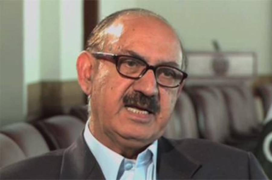 دہشتگردی کیخلاف آپریشن ضرب عضب پوری قوت سے جاری،حکومت پر عزم ہے :عرفان صدیقی