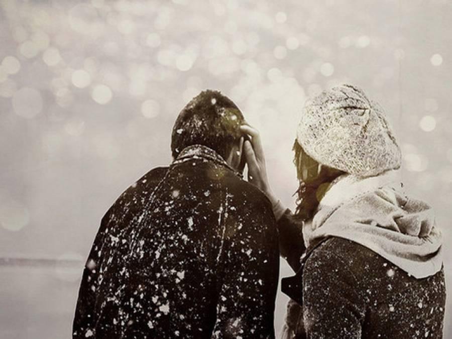 امریکہ میں برفانی طوفان کے دوران جوڑے نے شادی رچالی