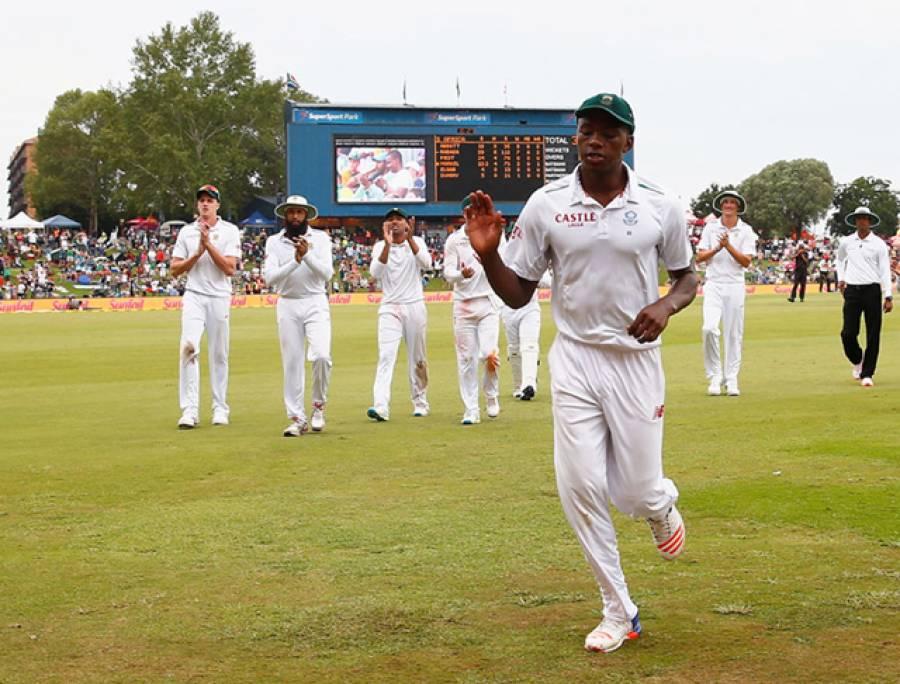 ربادا کی باولنگ نے انگلش بلے بازوں کو تگنی کا ناچ نچا دیا:چوتھے ٹیسٹ میں جنوبی افریقہ کامیاب ، سیریز 1-2 سے انگلینڈ کے نام