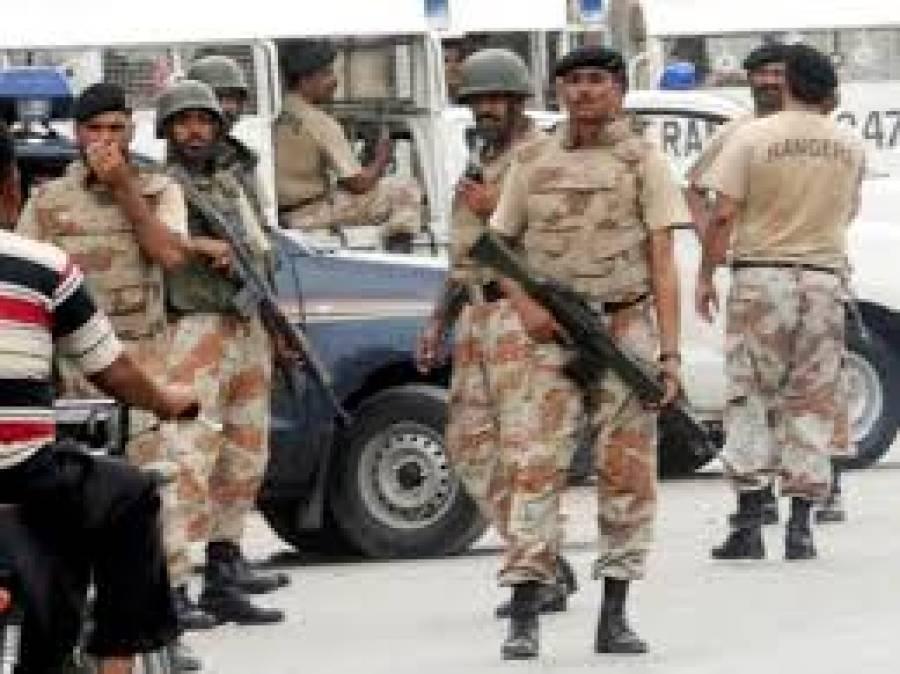 کراچی میں رینجرز کی کارروائی ،کالعدم تنظیموں کو مالی تعاون فراہم کرنے والے 4ملزمان گرفتار
