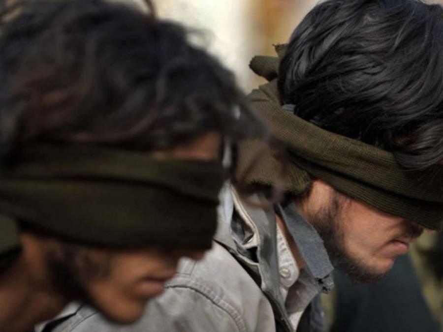 لاہور: امریکی قونصلیٹ کی ریکی کرنے والے دو مشکوک افغان باشندے گرفتار، نامعلوم مقام پر منتقل