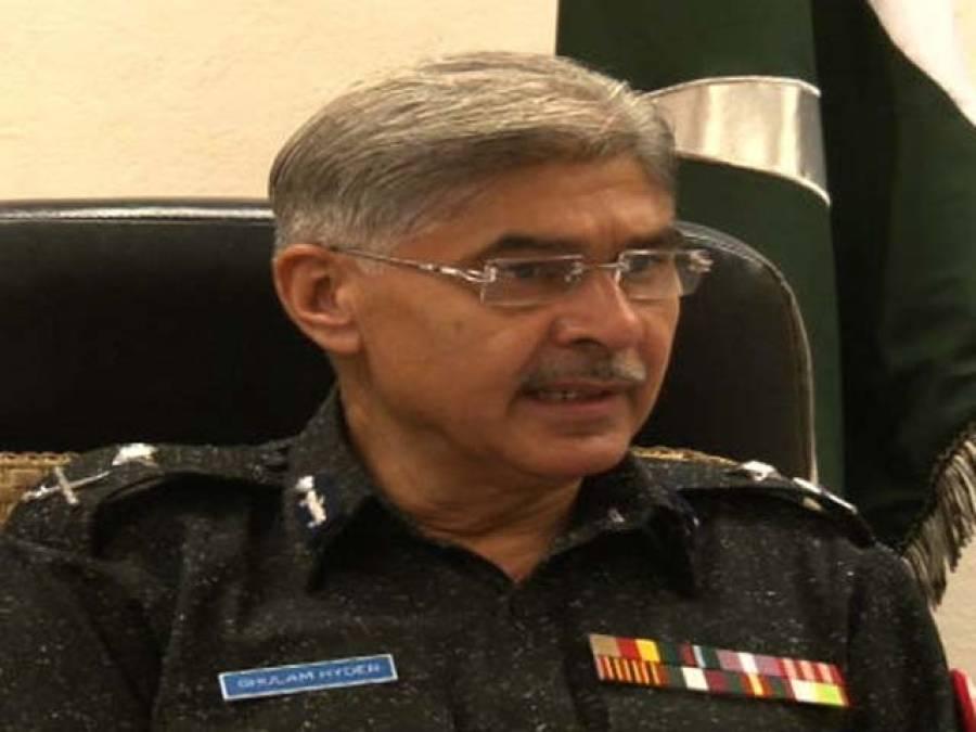 سندھ پولیس کے اعلیٰ افسران اورآئی جی غلام حیدر جمالی میں اختلافات منظر عام پر آ گئے