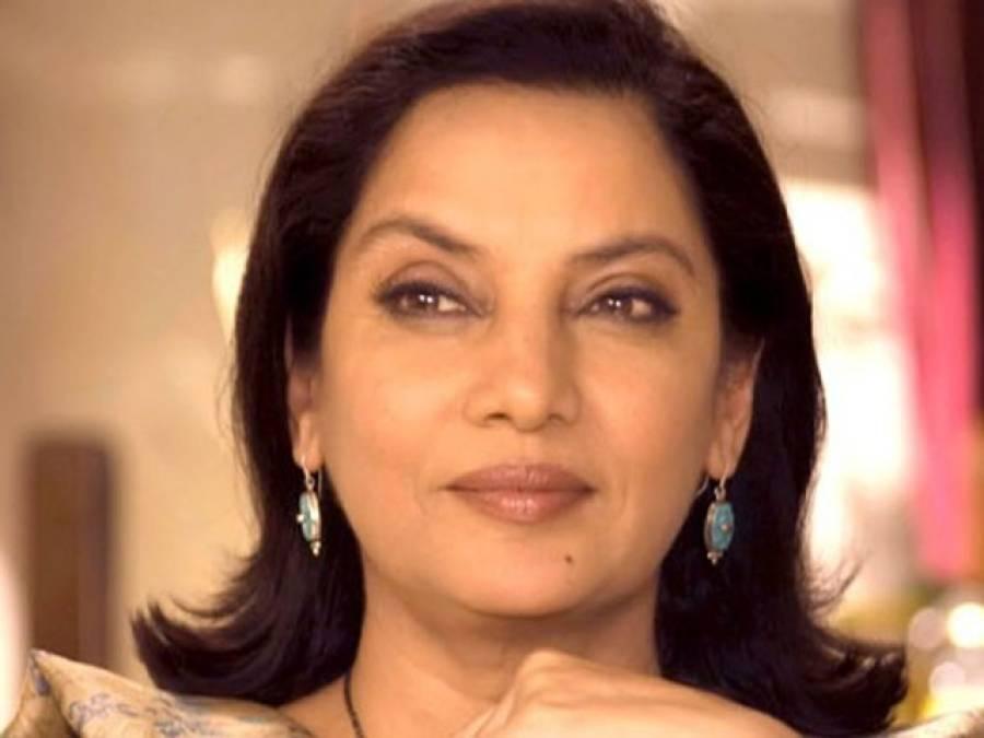 """""""اچھے سکرپٹ کی شرط""""،شبانہ اعظمی پاکستانی فلم میں کام کریں گی"""