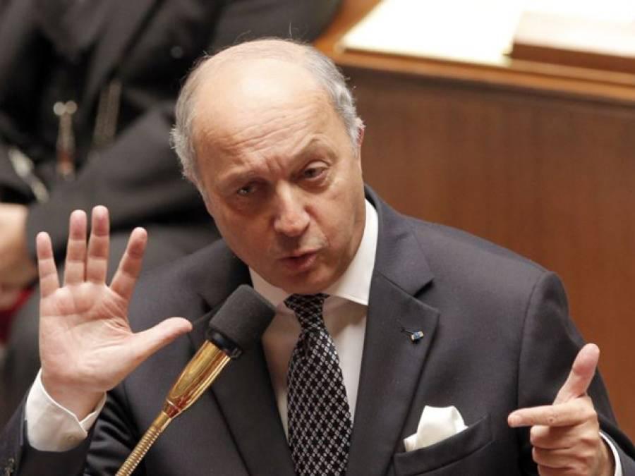 بشار الاسد جنیوا مذاکرات کو ناکام بنانے کی کوشش میں ہیں : فرانسیسی وزیر خارجہ