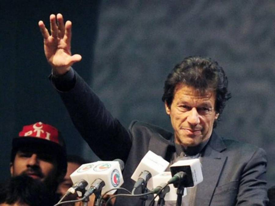 عمران خان ڈیرہ مراد جمالی پہنچ گئے،جلسہ سے خطاب کریں گے