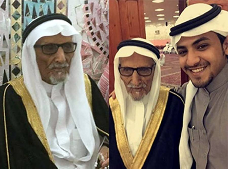 سعودی عرب میں 90 سالہ شخص کی 50 سالہ عورت سے شادی، رشتہ داروں کی تقریب میں بھرپور شرکت