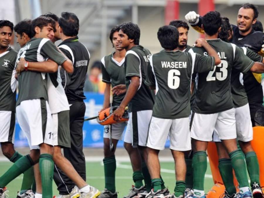 ساوتھ ایشین گیمز :پاکستان کی بنگلہ دیش کو 6.0سے شکست ،گرین شرٹس ٹیم فائنل میں پہنچ گئی