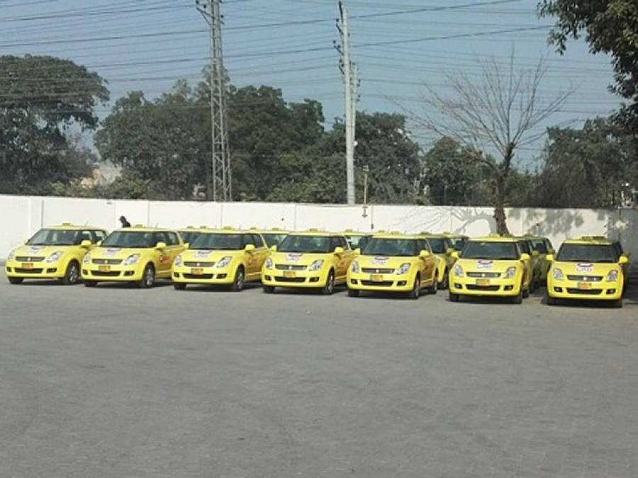 پنجاب حکومت ترک کمپنی پر مہربان، بغیر پرمٹ ٹیکسیاں سڑکوں پر آگئیں