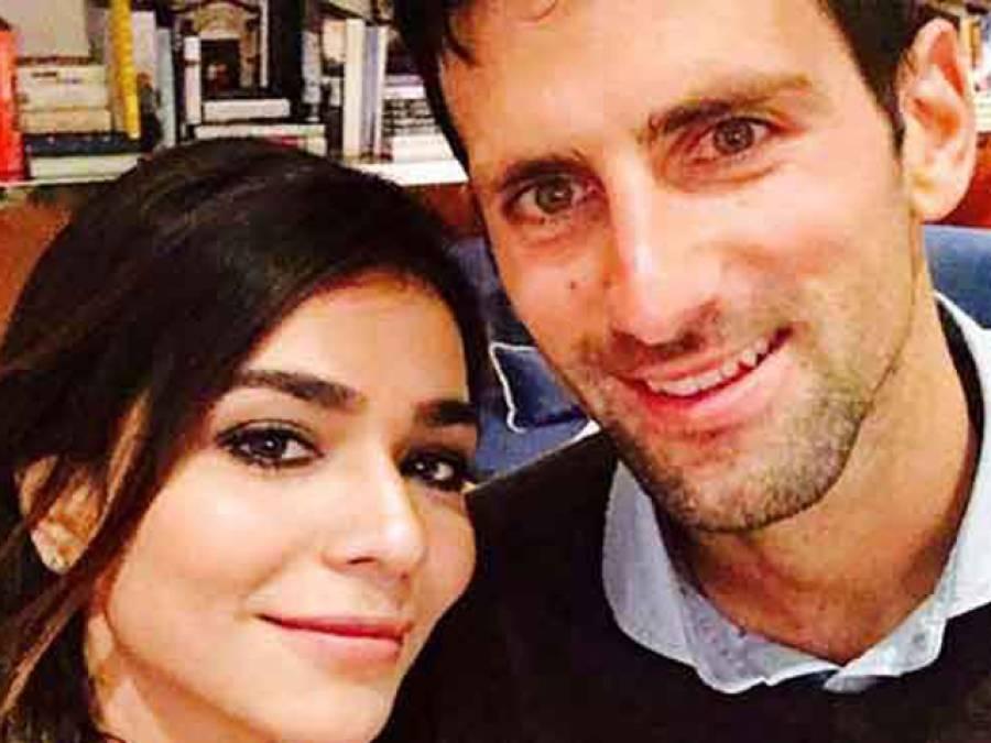 حمائمہ ملک کی ٹینس سٹار نواک جوکووک کو پاکستان آنے کی دعوت