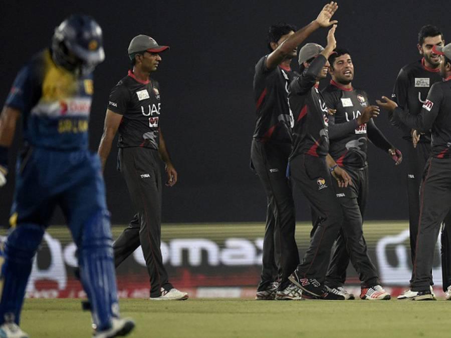 ایشیا کپ ٹی ٹونٹی : بلے بازوں کا ناکامی کے بعد باولرز کی شاندار کارکردگی، سری لنکا نے یو اے ای کو 14 رنز سے شکست دیدی