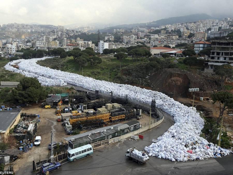لبنان میں شہر کے بیچ و بیچ بہنے والا یہ دریا پانی کا نہیں بلکہ۔۔۔ ایسی حقیقت کہ جان کر آنکھوں پر یقین نہ آئے