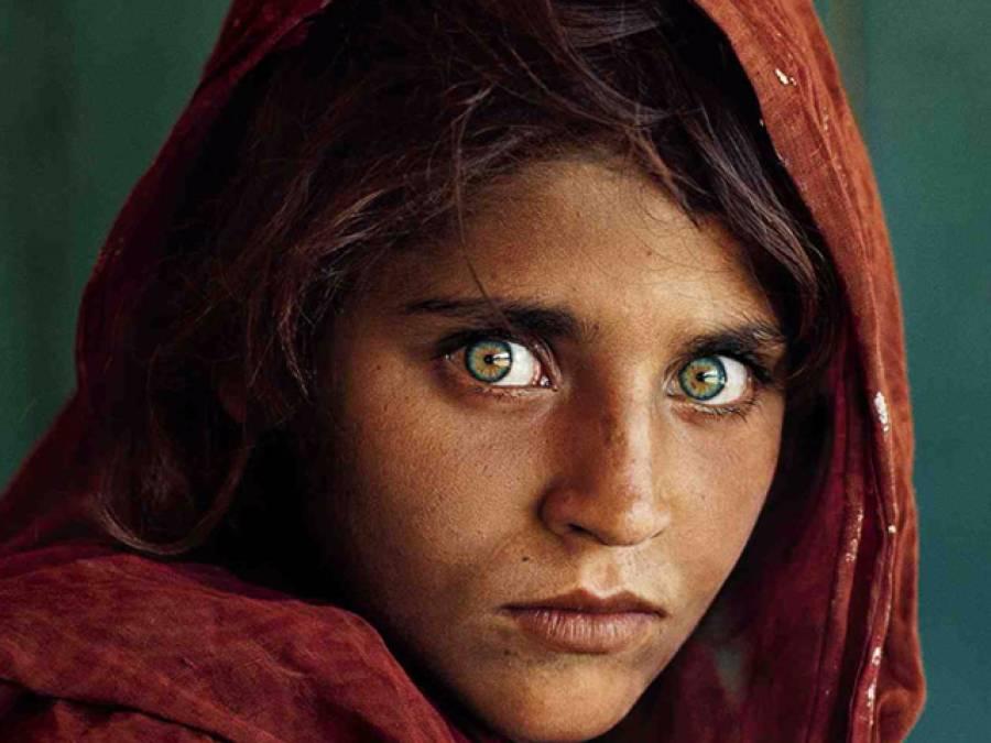 نیشنل جیو گرافک کی 128سالہ تاریخ میں افغان لڑکی شربت گُلہ کی تصویر سب سے بہترین قرار