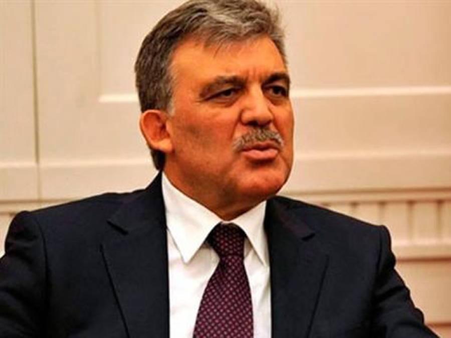 سابق ترک صدر عبداللہ گل کاوزیر اعظم کو ٹیلی فون،سانحہ لاہورپر اظہار افسوس