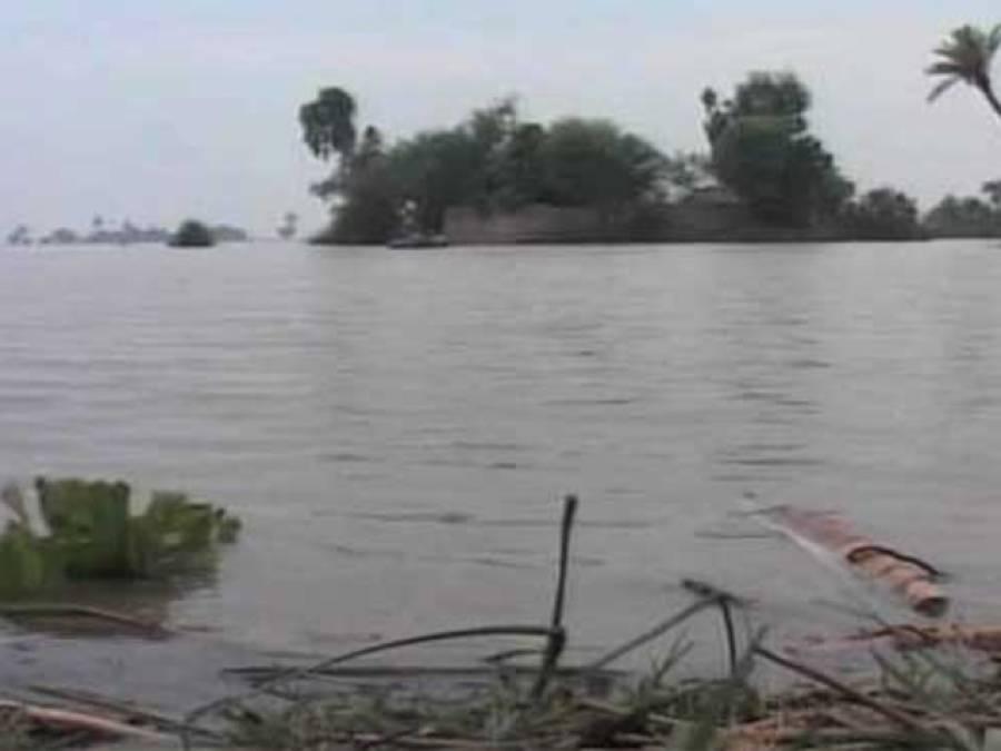 دریائے سندھ میں طغیانی،پل کا ایک حصہ بہہ گیا،رحیم یار خان اور راجن پور میں زمینی رابطہ منقطع