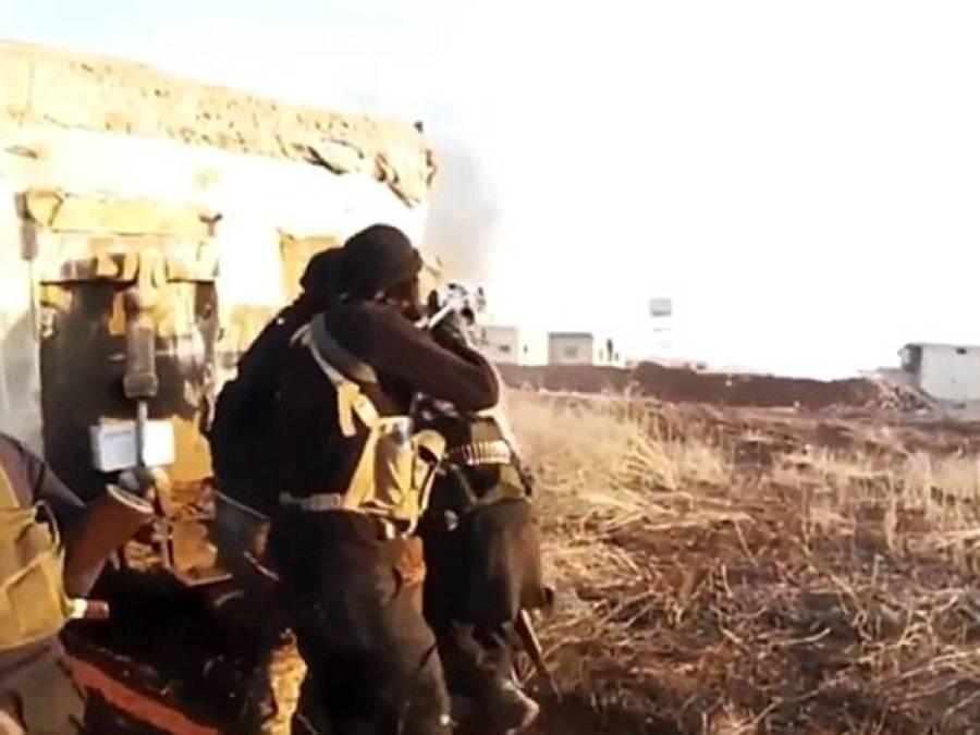 لڑائی کی ویڈیو ریکارڈ کرتے داعش کے کارکن نے حادثاتی طور پر ایک ایسا منظر فلم بند کرلیا کہ دیکھ کر آپ کی آنکھیں بھی کھلی کی کھلی رہ جائیں گی