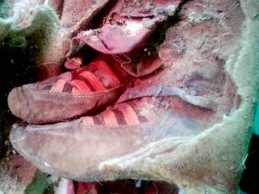 منگولیا میں 1500 سال پرانی لاش دریافت، پاﺅں پر ایک ایسی چیز پہن رکھی تھی کہ انٹرنیٹ پر ہنگامہ برپاہوگیا، صارفین حیران پریشان