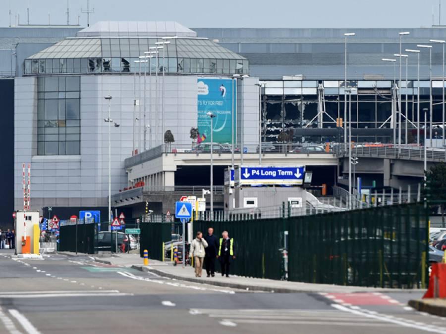 برسلز ائرپورٹ: 2 نوجوان مشکوک گاڑی چھوڑ کر فرار، پولیس، بم سکواڈ طلب، کلیئر قرار