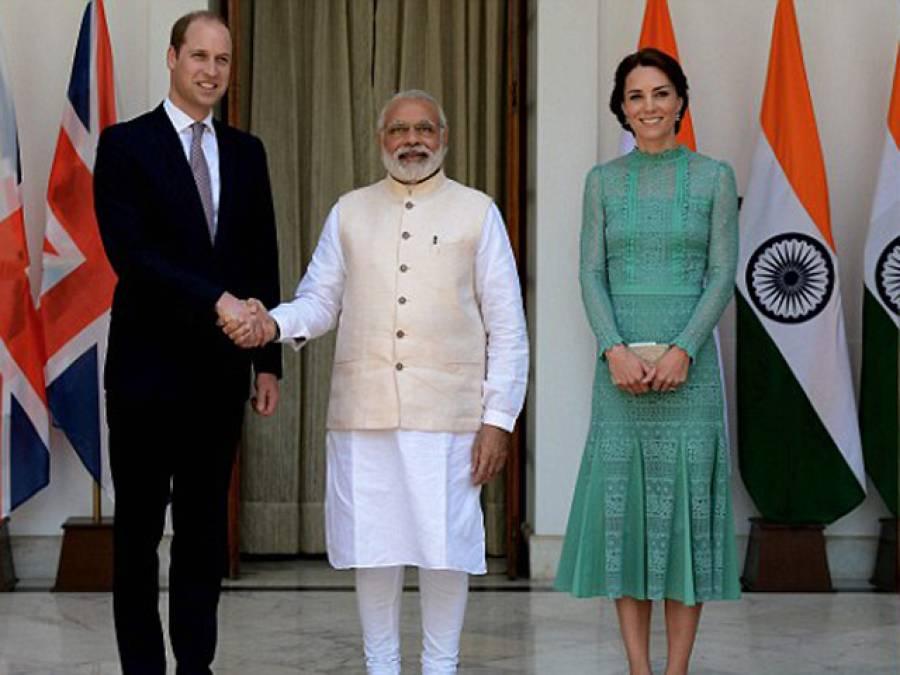 برطانوی شہزادے کا دورہ بھارت، مصافحے کے دوران مودی کی ایسی حرکت کہ انٹرنیٹ پر طوفان برپا ہوگیا، شہزادہ بھی حیران