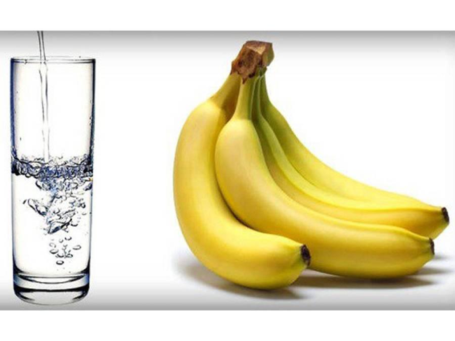 کیلا اور پانی، ان دو چیزوں کو دن میں اس وقت کھا کر آپ ایک ہفتے میں 5 کلو وزن کم کرسکتے ہیں
