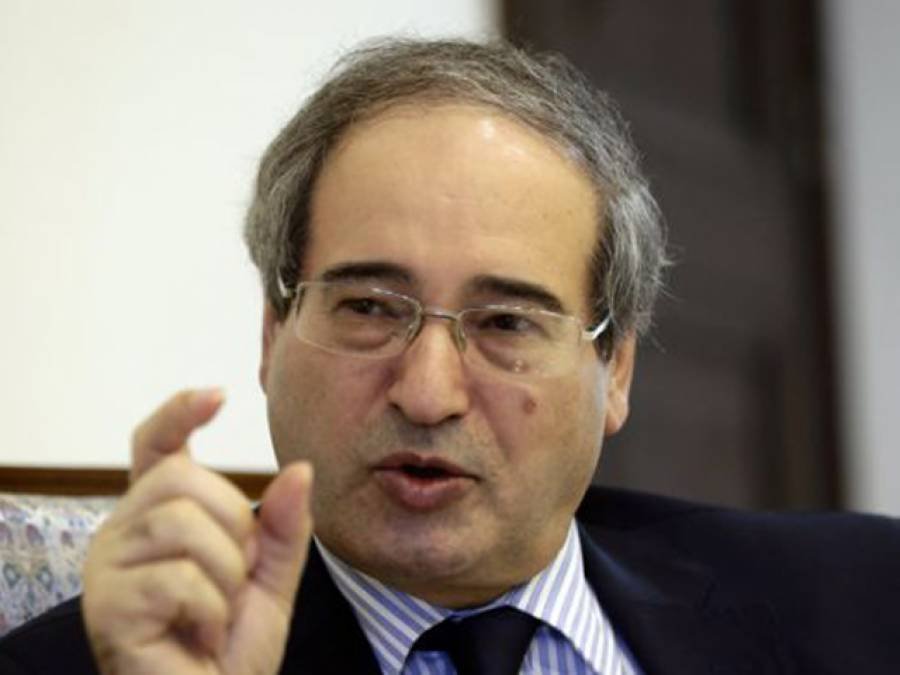 فرانس اوربرطانیہ دہشت گردوں کی مددکررہے ہیں: شام کے نائب وزیر خار جہ کا الزام
