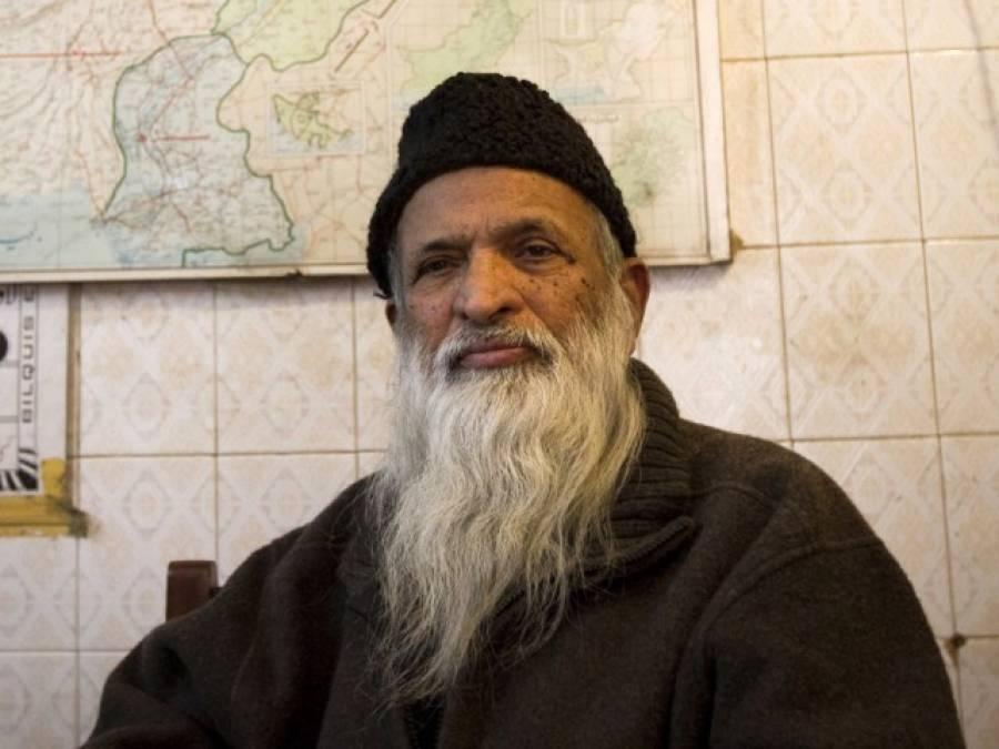 عبد الستار ایدھی کی طبعیت نا سازہوگئی ،ہسپتال منتقل