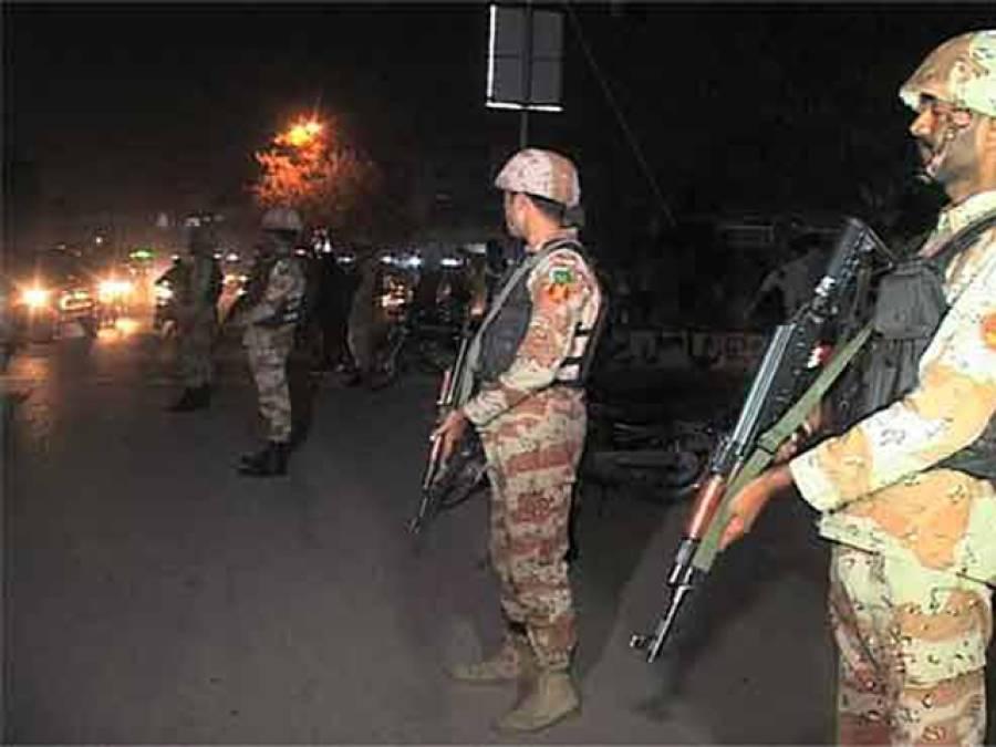 رینجرز ان ایکشن ،لیاری اور کھوکھراپار میں سرچ آپریشن کے دوران سیاسی تنظیم کے4 کارندے گرفتار ،اسلحہ برآمد