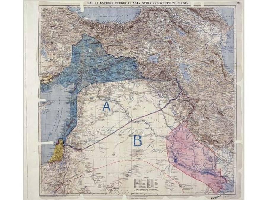 مشرق وسطیٰ میں جنگیں،برطانیہ اور فرانس کی سوسال پرانی سازش کا نتیجہ