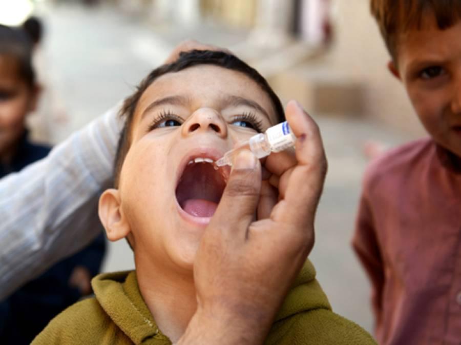 بلوچستان بھر میں انسداد پولیو مہم دوسرے روز بھی جاری، 24 لاکھ بچوں کو قطرے پلائے جائیں گے