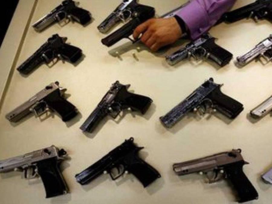 پنجاب میں بوگس دستاویزات پر ایک لاکھ 73ہزار اسلحہ لائسنس بنے