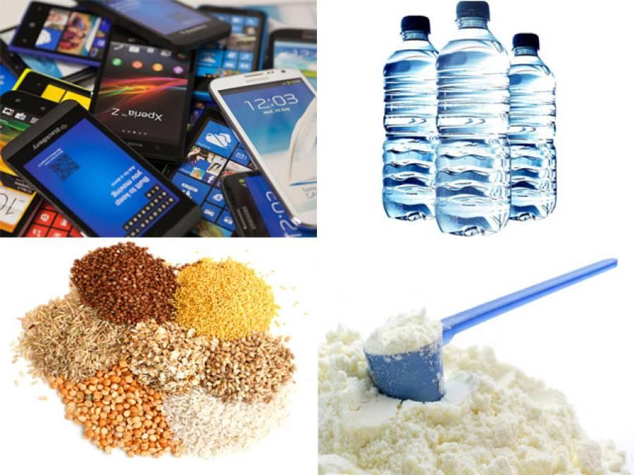 آئندہ بجٹ خشک دودھ، دالیں، مشروبات، سیمنٹ، موبائل فونز مہنگے ہونے کا امکان