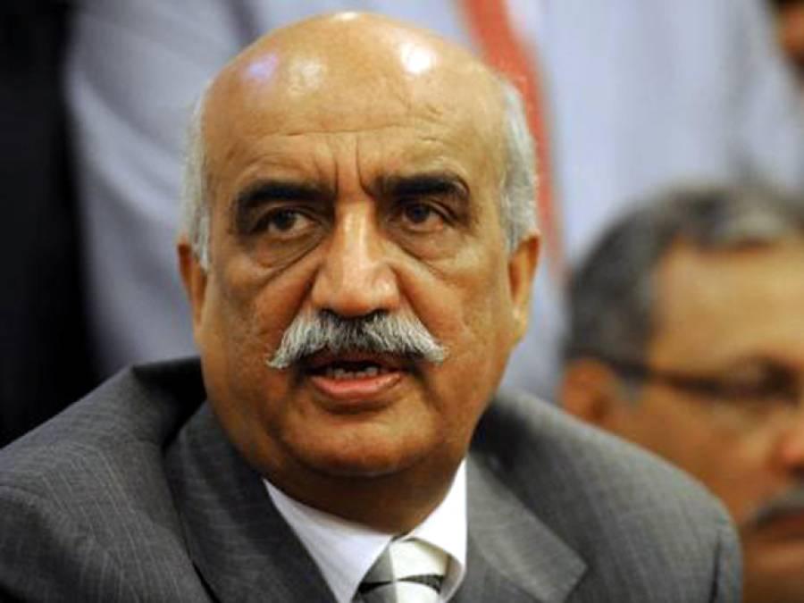 فضل الرحمان اور سابق صدر پرانے دوست، ملاقات ہو سکتی ہے، ڈرون حملہ پاکستان کی سلامتی کے خلاف ہے: خورشید شاہ