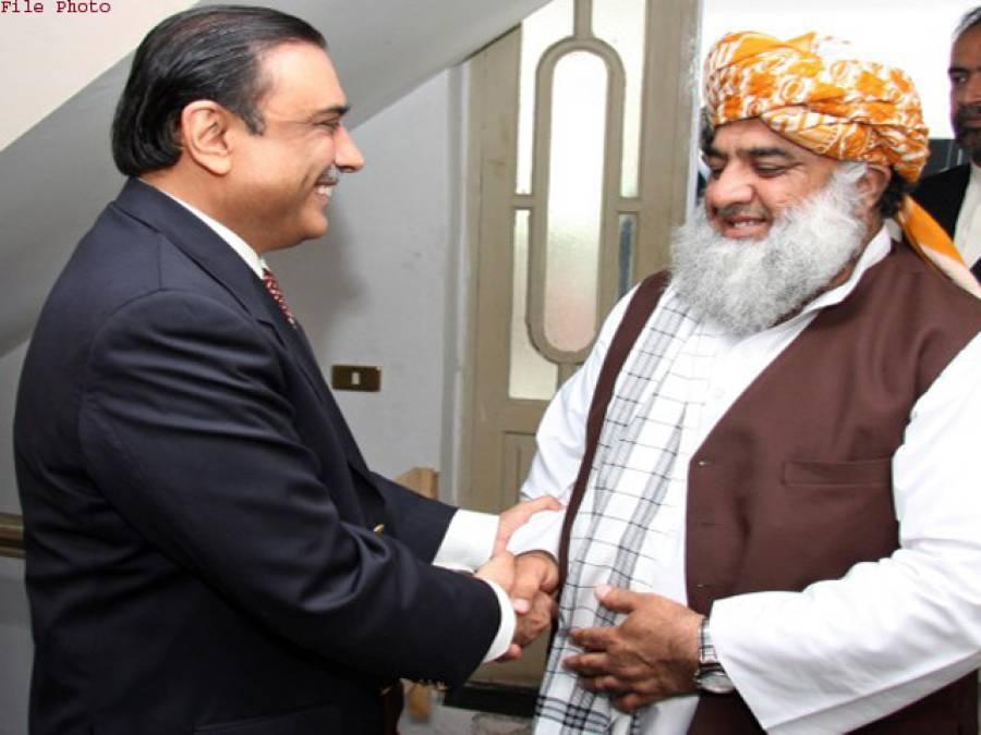 مولانا فضل الرحمان کی آصف زرداری سے طویل ملاقات، نوازشریف کا پیغام پہنچادیاگیا ، سسٹم بچانے پر اتفاق