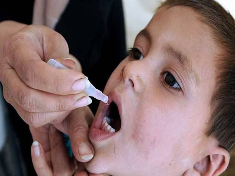 جنوبی وزیرستان کی شکتوئی بیلٹ میں8 سال بعد انسداد پولیومہم 12811 بچوں کو ویکسین پلا دی گئی