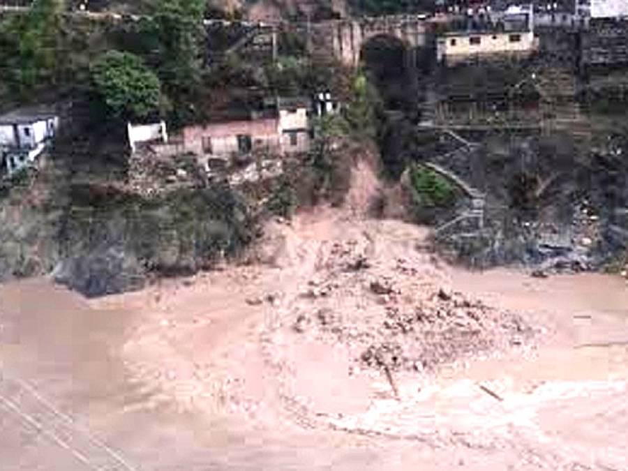 بھارتی ریاست اتراکھنڈ میں بارشوں کے بعد سیلاب اور لینڈ سلائیڈنگ کے نتیجے میں 40 افراد ہلاک