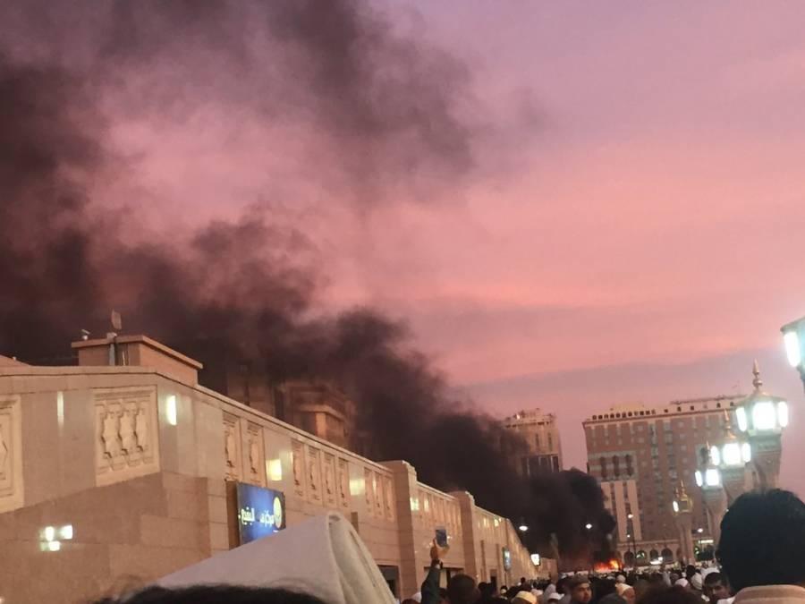 مدینہ منورہ ، مسجد نبویﷺ کے قریب خودکش دھماکہ، 4افراد شہید:العریبہ