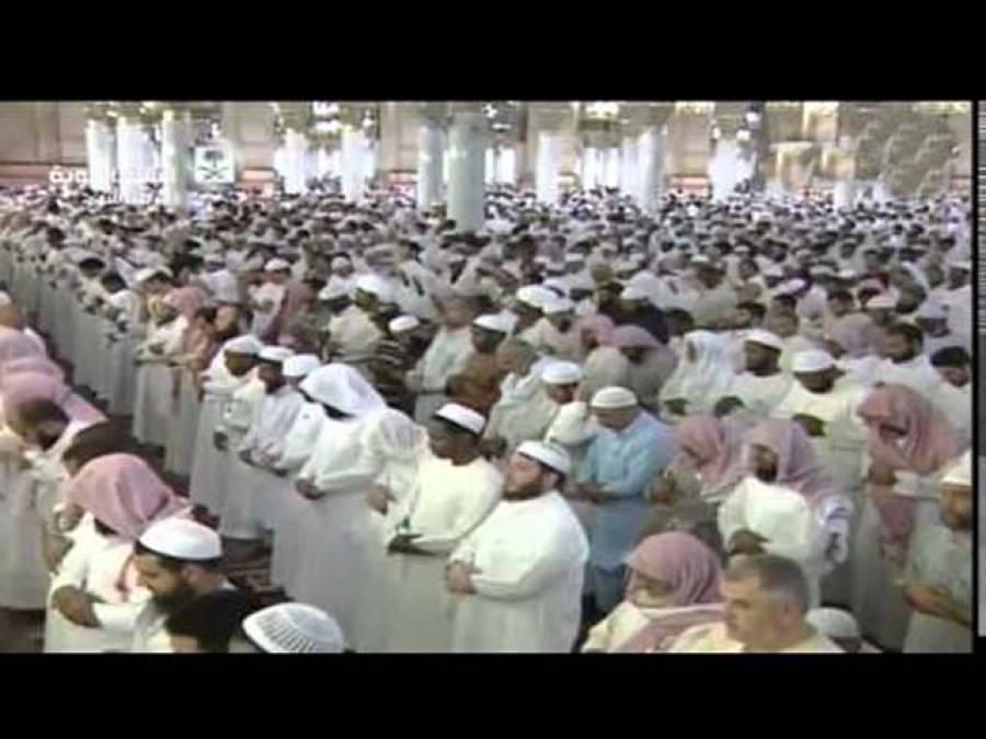 دشمنان اسلام اپنے عزائم میں کامیاب نہ ہو سکے مسجد نبویﷺ کے اندر کا وہ روح پرور منظر جسے دیکھ کر آپ کا ایمان بھی گرما جائے گا