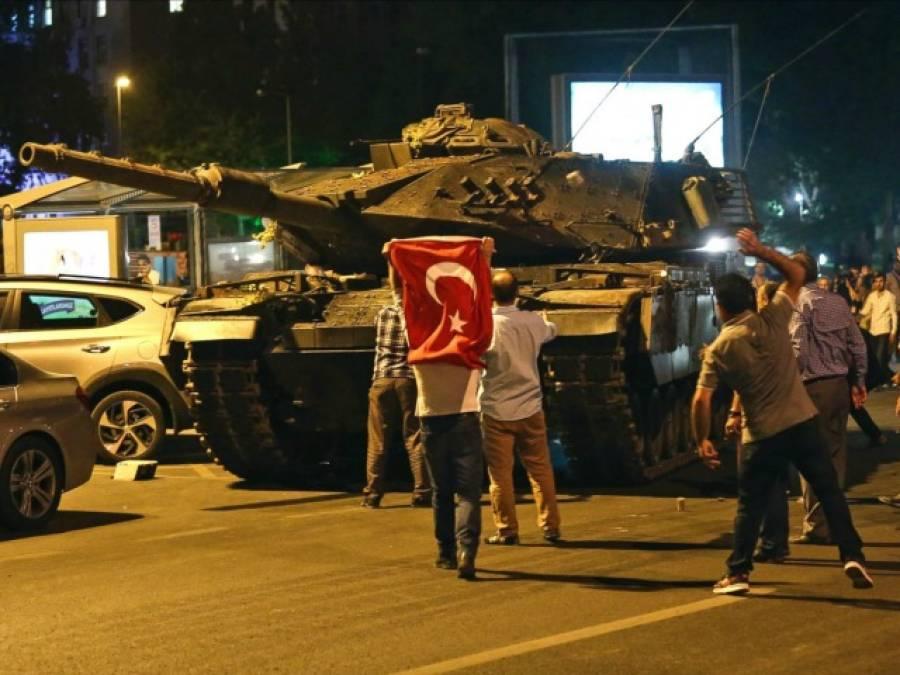 ترک عوام نے فوجیوں کے دلوں میں اپنا ڈر بٹھا دیا:غیر ملکی میڈیا