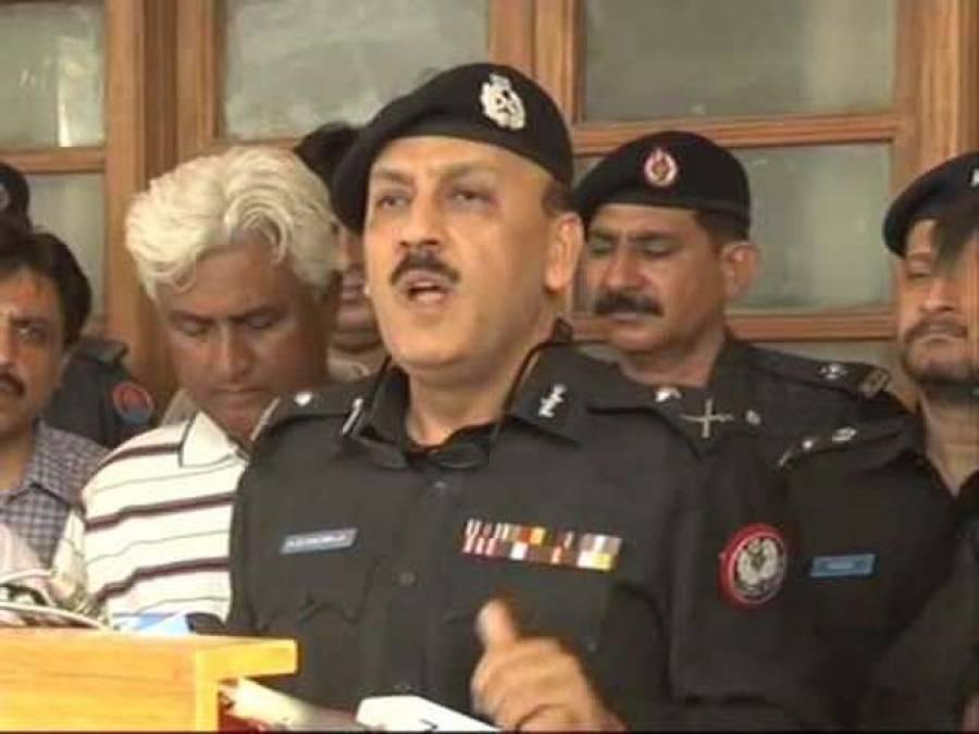 کتنا اچھا ہوتا کہ عوام پاک فوج کے جوانوں پر فائرنگ کرنے والوں پر گاڑی چڑھا دیتے:آئی جی سندھ