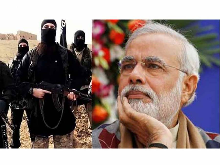 داعش یوم آزادی پر نریندر مودی پر لال قلعے میں حملہ کر سکتی ہے :ٹائمز آف انڈیا