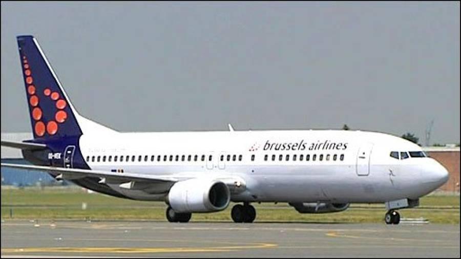 برسلز آنیوالے طیاروں میں بم کی اطلاع افواہ قرار